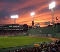 Sunset at Fenway