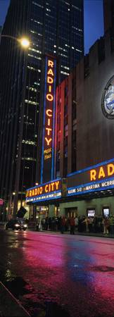 Radio City Vertical Panorama