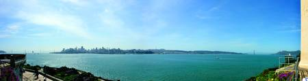 San Francisco Panoramic from Alcatraz