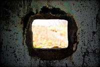 Looking through a Gun Emplacement on Cramond Islan