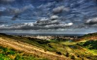 Looking from Arthurs Seat towards the Firth of For
