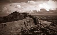 Salisbury Crags and Arthurs Seat Edinburgh
