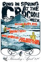The Crocodile 042706 Gig Poster