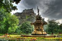 Ross Fountain, Edinburgh Castle