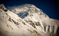 Everest from BaseCamp Tibet after snow