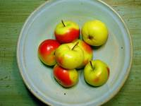 Bowl with Lady Apples