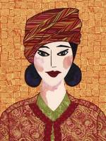 Japanese Girl series - Chieko in a Turban