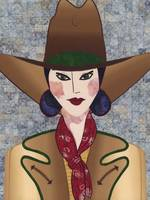 Japanese Girl Series - Cowboy Chieko