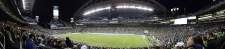 Sounders FC Inaugural Game Panorama