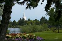 20x30 From the Park Idaho Falls Temple