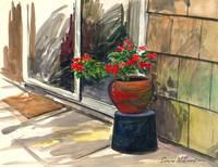PATIO WATERCOLOR