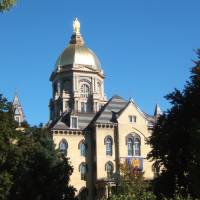 """Notre Dame Golden Dome"" by PhotograpybyTrista"