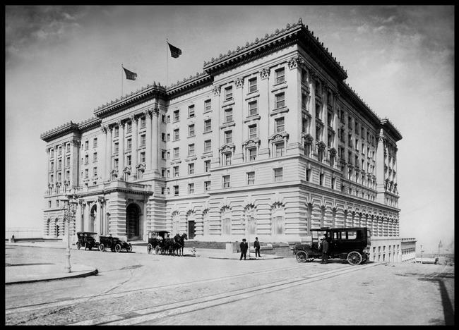 Fairmont Hotel, Mason and California St., Nob Hill