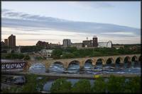 Stone Arch Bridge in Minneapolis, MN
