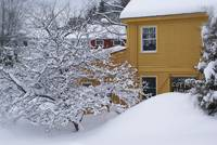 Stowe Coffee House in Winter