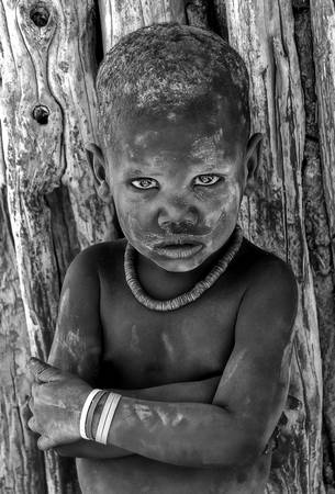 Himba Boy by Chad Galloway