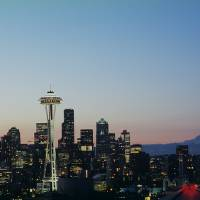 Kerry Park Spring Sunrise Art Prints & Posters by Max Effgen