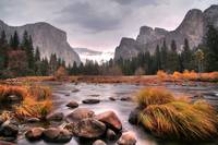 Fall color, Yosemite Valley