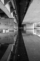 Bridge Reflection Monochrome 1