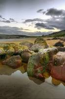 Beach Stones and Rock Pool