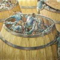 """Crabs In A Barrel II"" by Ronwms"