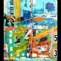 meet me after hours at warehouse 53 Art Prints & Posters by Kathy Augustine