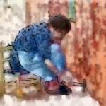 Sidewalk Repair by Deanne Flouton