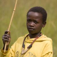 Young African Boy Fishing Art Prints & Posters by Mucheni Chimkombe