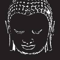 Buddha in Black and White Art Prints & Posters by Andrew DiGuiseppi