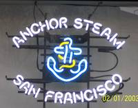 anchor steam sign