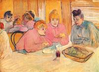 Women in a Restaurant