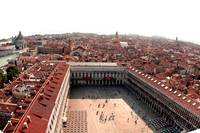 Panoramic of Venice, Italy