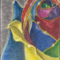Gold and Roses Art Prints & Posters by Amanda Bowoade