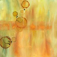 Floating Circles II Art Prints & Posters by Sherri Spooner