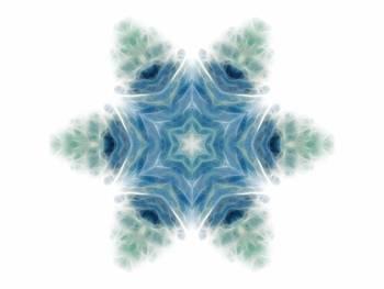 Ocean Waves Kaleidoscope Art 8