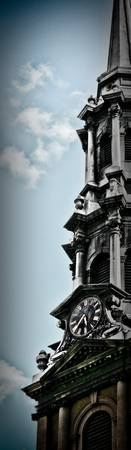 Steeple - St. Paul's Chapel / Color - NYC