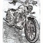 """Motorcycle by Riccoboni"" by RDRiccoboni"