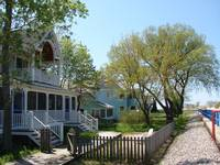 Cottages Along Holland Michigan Channel