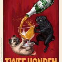 """""""Twee Honden Extra Fijn Bier"""" by OtisNewVintage"""