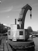 A Steam Crane In Bristol