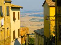 View from Montalcino, Tuscany