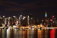 NYC ON A CLEAR NIGHT