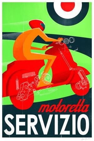 Motoretta Servizio by James Provost