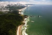 Cannon Beach Aerial View