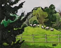 Sheep in Paddock