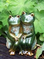 Happy Garden Frogs