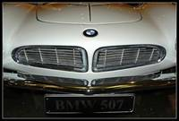 BMW 507 - grille