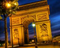 Arc de Triomphe and Place Charles de Gaulle by Nig