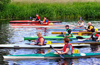 Canoe Race, The Start  (17679-RDA)