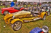 Yellow Kit Car